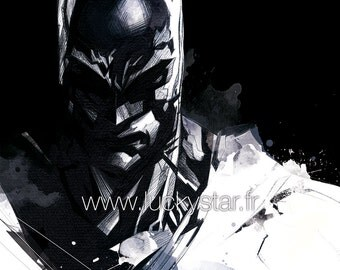 Batman / / digital printing / / Gotham / / Dark Knight