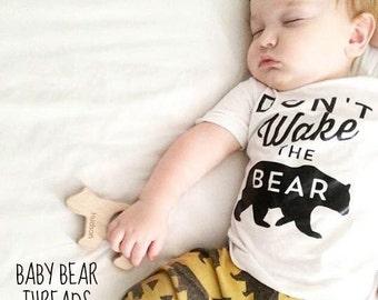 Don't Wake The Bear - Baby Bodysuit - Kid Shirt