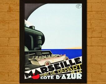 Marseille france etsy for Autrefois home decoration marseille