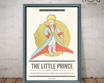The Little Prince - Le Petit Prince - Unique Minimal Poster Design