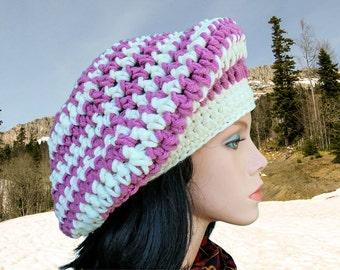 Pattern crochet beret Patterns hats Slouchy beanie hat pattern Crochet beret pattern Slouchy beret Easy crochet hat pattern for beginner