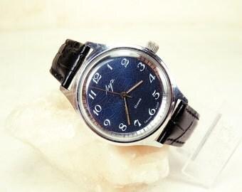 Rare Men's Watch  - Vintage Men's Watch Luch - USSR Watch