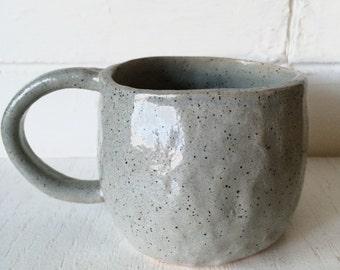 Speckled Pinch Pot Mug