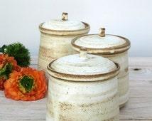 ceramic jar with lid,ceramic jar,ceramic salt cellar,sugar jar,rustic jar,white ceramic jar,ceramic cookie jar,ceramic lidded jar,white jar