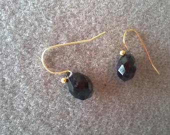S - 366 Iolite earrings