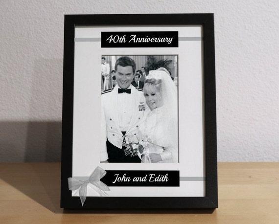 Gift Ideas 40th Wedding Anniversary: 40th Wedding Anniversary 40th Anniversary Gift For Parents