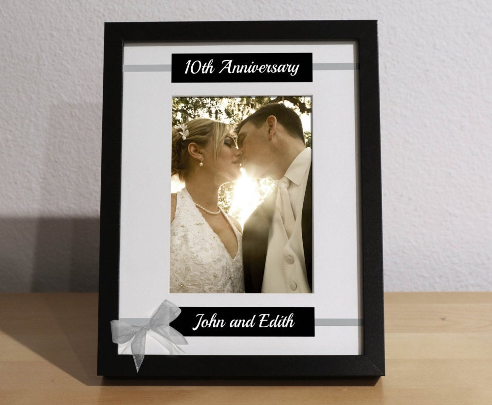 10th Wedding Anniversary Gift For Him: 10 Year Wedding Anniversary 10th Anniversary Gift By