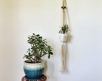 Macrame Hanging Planter | Modern Macrame Hanging Planter | Air Plant Hanger | Macrame Succulent Planter | Bohemian Decor | Airplanters