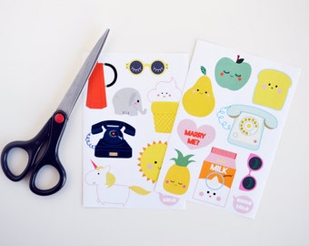Stickers x 2 - cutting boards
