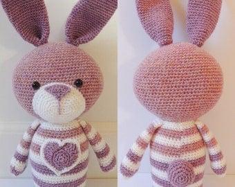 Crochet pattern Bea the rabbit - Amigurumi pattern