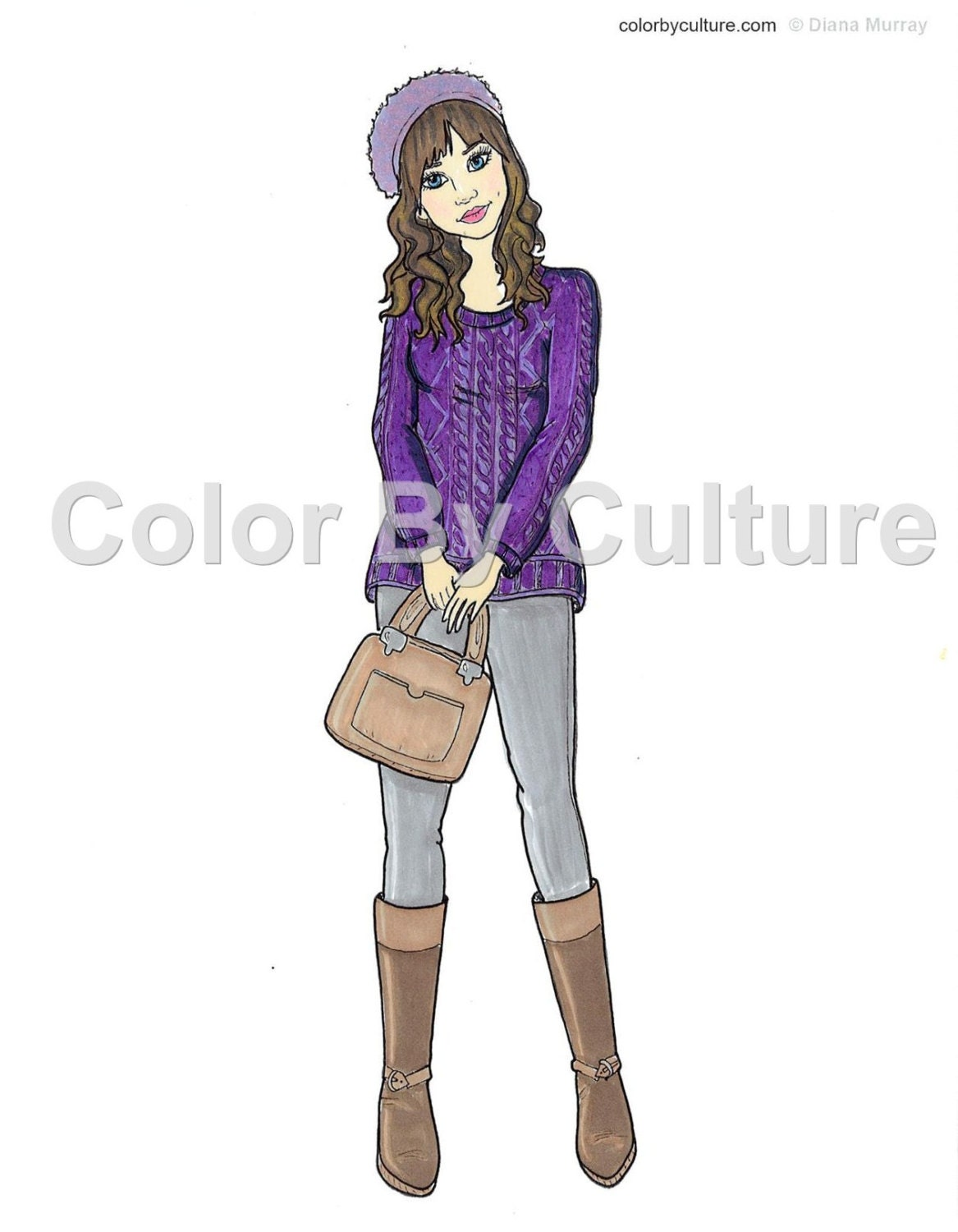 fashion coloring book printable coloring pages cute fall
