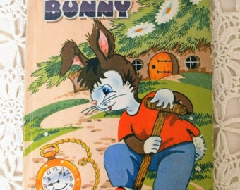 Vintage Children's Book. 'Barnaby Bunny' by Violet M Williams. 1960s Kid's Picture Book. Rabbit Story. Dean & Son Ltd. Cute Bunny Book.