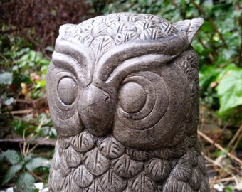 LARGE OWL Garden Statue