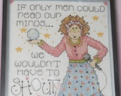 Read Our Minds Counted Cross Stitch Kit