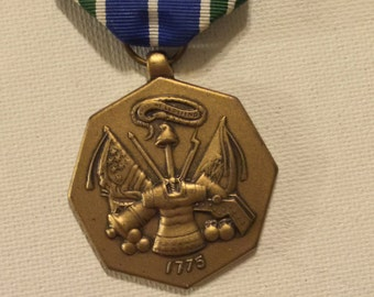 U.S. Army Medal Military Achievement Bronze 1775 Vintage Birthday Veterans