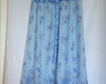 Vintage chiffon nightgown