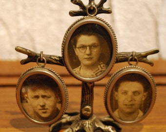 Family Tree brass for portraits.
