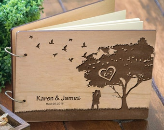 Guest Book Wedding, Guestbook Wedding, Wedding Guestbook, Guest Book, Guestbook, Personalized Wedding Gift, Custom Guest Book