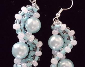 PEARLS OF SEA light blue