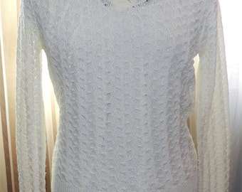 Lacy Sweater by Kenneth Too!