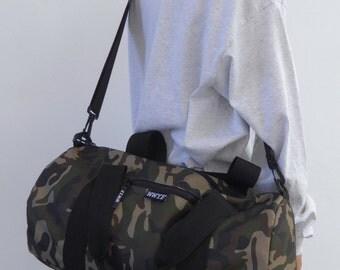 Weekend Barrel Bag Camo