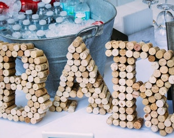 BAR Cork Sign Letters