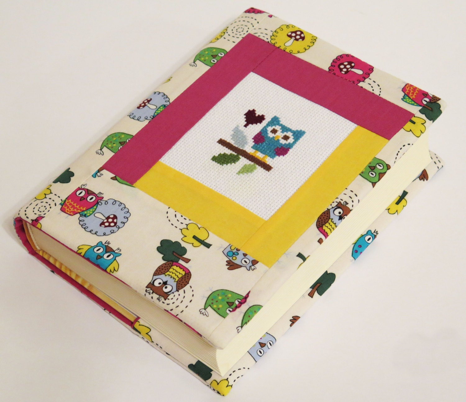 Fabric Book Cover Buy ~ Paperback book cover fabric reusable