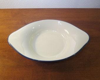 vintage oven safe pottery etsy. Black Bedroom Furniture Sets. Home Design Ideas
