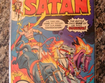 The Son of Satan  Issue 1 1975 comic