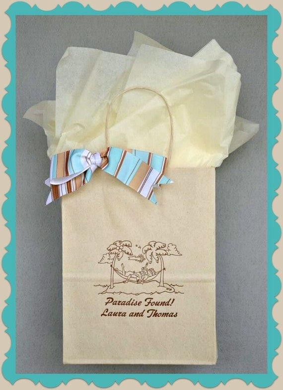 Personalised Wedding Gift Bags Guests : Wedding Welcome Bags Personalized Wedding Guest Gift Bags Welcome Bags ...