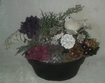 Purple Floral Arrangement