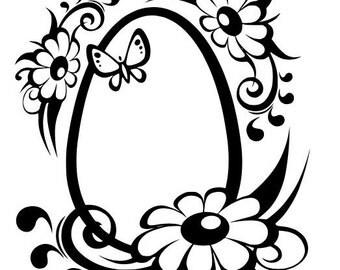 Spring Easter Egg SVG