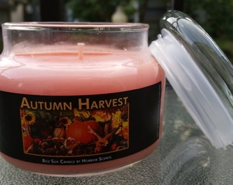 Autumn Harvest - 8oz Soy Candle