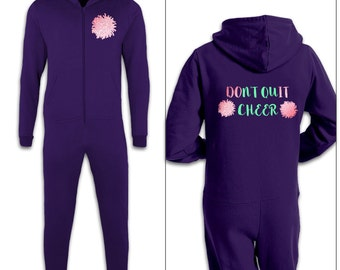 Don't Quit Cheer kids onesie