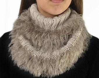 neck, scarf