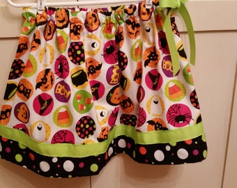 Halloween Ribbon Tie skirt