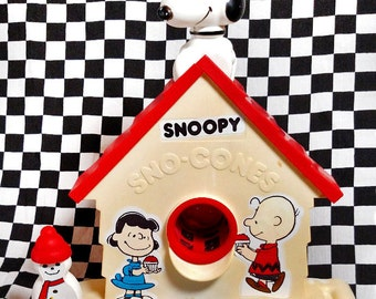 Sweet Snoopy Sno Cone Machine! Peanuts - Hasbro - VG