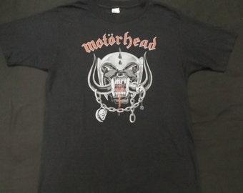 vintage 80s motorhead shirt
