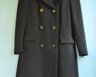 SALE Vintage 60's Fashioned by Bromleigh Winter Coat sz. 8/10