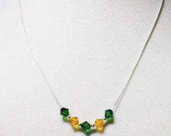 Sunday Game Day Green Bay Packers Necklace
