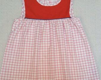 Vintage 1960's Spring Summer Dress Tunic 3 4 5