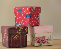 Unique Fabric Covered Box Related Items Etsy