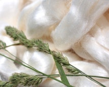 Bamboo Roving//Ready to spin// soft and shimmery