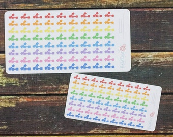 CLEARANCE! Gym/Weights Planner Stickers, Gym Day, for use in Erin Condren Planners, Happy Planner Stickers, Fitness Planner