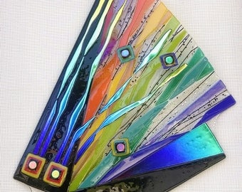 Glass Fused wall piece