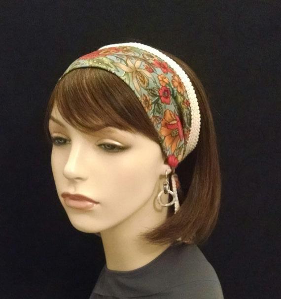 Breezy flowers soft as silk headband