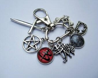 Buffy charm keychain