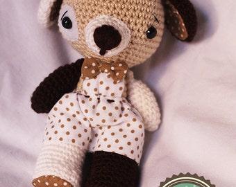 Paquito Puppy (amigurumi) Plush crochet