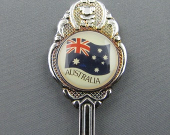 Flag of Australia on top Collectible SOUVENIR Spoon