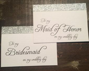 Wedding Card to my Maid of Honor / Bridesmaid